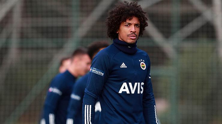 Fenerbahçede Luiz Gustavo yine takımla çalışamadı